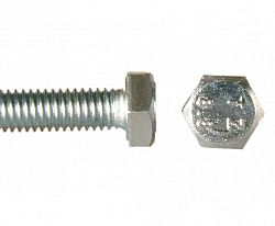 Šroub 6hran celý závit 8.8 ZB, DIN 933 - M10x50