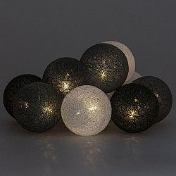 Světelný řetěz La Balle, šedá