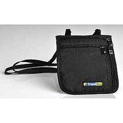 TravelBlue Bezpečnostní pouzdro peněženka na krk ultratenké TBU124
