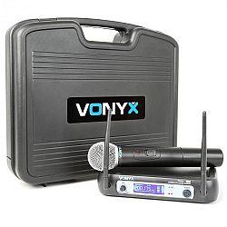 Vonyx WM511, 1kanálový VHF vysílací systém, včetně přenosného kufru