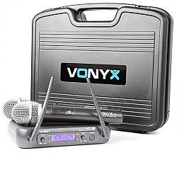 Vonyx WM73, bezdrátový 2kanálový UHF vysílací systém