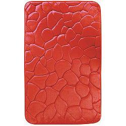 VOPI Koupelnová předložka s paměťovou pěnou Kameny červená, 50 x 80 cm