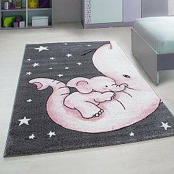 Vopi Kusový dětský koberec Kids 560 pink, 80 x 150 cm