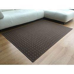 Vopi Kusový koberec Valencia hnědá, 80 x 150 cm