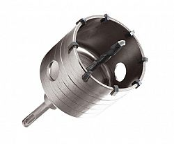 Vrták korunkový SDS+ do zdi Extol Premium - 68mm/100mm