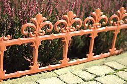 Zahradní plůtek Art 34 cm teracota