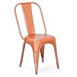 Židle AIX retro měděná