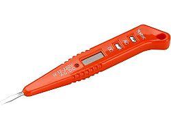 Zkoušečka napětí 12-220V AC/DC digitální Extol Premium 8831210